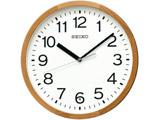 電波掛け時計 KX249B 茶