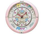 からくり時計 「サンリオキャラクターズ」 CQ222P 薄ピンクパール