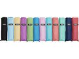 【折りたたみ傘】レディース折傘 ポケフラットAカラー(カラー手元) GKA-3F50-UH 50cm【色指定不可】