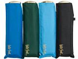 【折りたたみ傘】メンズ折傘 ウォーターバリアポケフラット60cm 【色指定不可】 [60cm] WBGK3F60UH