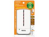 スマートフォン用[micro USB] 乾電池モバイルバッテリー +micro USBケーブル 90cm (ホワイト) TD32SW [乾電池タイプ /microUSB]