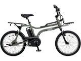 20型 電動アシスト自転車 イーゼット(マットオリーブ/内装3段変速) BE-ELZ032AG【2018年モデル】
