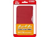 3DS LL用シリコンカバー (レッド) 【3DS LL】 [SASP-0197]