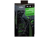 PS4/PSVR/スマホ用ゲーミングイヤホン+マイク グリーン [SASP-0469]