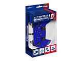 PS4/PS3/Switch/PC対応マルチコントローラーAce メタルブルー SASP-0524 SASP-0524 メタルブルー