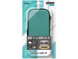 Switch Lite用 スリムハードポーチ ターコイズ SASP-0537 【Switch Lite】