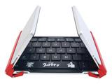 【スマホ/タブレット対応】 3E-BKY8-UL1 ワイヤレスキーボード 【NEO】 ウルトラマン [Bluetooth・Android/iOS/Win] 3つ折りタイプ スタンド付(英語64キー)