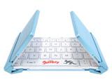 【スマホ/タブレット対応】ワイヤレスキーボード【Bluetooth】 3つ折りタイプ スタンド付(英語64キー) 3E-BKY8-UL4 [Bluetooth /ワイヤレス]