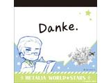 【アニメガ限定】 ヘタリア World★Stars メモ帳 ドイツ