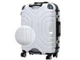 TSAロック搭載スーツケース(83L) B5225T-67 ヘアラインWI/GY