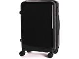 TSAロック搭載スーツケース TAGlabel by amadana ハードジッパー AT-SC11M メタリックブラック 【ビックカメラグループオリジナル】