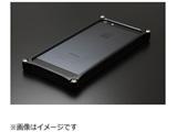 iPhone SE / 5s / 5用 ソリッドバンパー ブラック 41733 GI-262B ストラップホール付