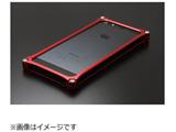 iPhone SE / 5s / 5用 ソリッドバンパー レッド 41734 GI-262R ストラップホール付