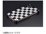 iPhone SE / 5s / 5用 市松 シルバー&ブラック 41744 GI-261IBS