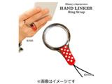 〔ストラップ:フィンガーホルダー〕 HandLinker ベアリングストラップ 「ディズニー」(ミニー)