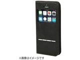 iPhone SE / 5s / 5用 CERTA FLIP ケルタフリップ窓付きダイアリーケース チャコールブラック ポケット・ストラップホール付