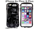 iPhone 6s Plus/6 Plus用 iface First Classケース STAR WARS・宇宙船図面 IP6SPSWIFACEFCVEHCLE