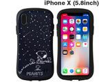 [iPhone XS/X専用]PEANUTS/ピーナッツ iFace First Classケース(スヌーピー&ウッドストック/星空) 41-891438
