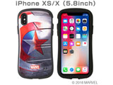 [iPhone XS/X専用]MARVEL/マーベル iFace First Classケース (シールド) 41-896303