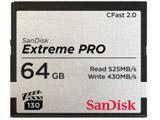 64GB CFast2.0 カード SanDisk Extreme PRO SDCFSP-064G-J46D