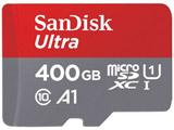 SDSQUAR-400G-JN3MA 400GB・UHS Speed Class1(Class10)対応microSDXCカード [SDXC変換アダプタ付]