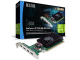 グラフィックボード GeForce GT 730 2GB QD DDR5   [2GB /GeForce GTシリーズ]