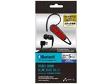 【在庫限り】 スマートフォン対応[Bluetooth4.1] 片耳ヘッドセット USB充電ケーブル付 (レッド) BT-A7 RD