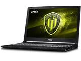【在庫限り】 ゲーミングノートPC WE63-8SJ-605JP [Win10 Pro・Core i7・15.6インチ・SSD 256GB・HDD 1TB・メモリ 16GB]