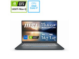 【店頭併売品】 ノートパソコン Prestige 15 A11 カーボングレイ Prestige-15-A11SCS-005JP [15.6型 /intel Core i7 /SSD:512GB /メモリ:16GB /2021年2月モデル]