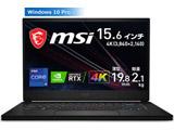 GS66-11UH-321JP ゲーミングノートパソコン GS66 Stealth 11U ブラック [15.6型 /intel Core i9 /SSD:1TB /メモリ:32GB /2021年7月モデル]