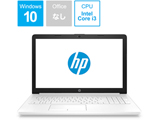 ノートPC 15-da0089TU 4QM57PA-AAAA ピュアホワイト [Win10 Home・Core i3・15.6インチ・HDD 1TB・メモリ 8GB]