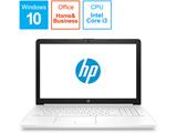 ノートPC 15-da0089TU-OHB 4QM57PA-AAAB ピュアホワイト [Core i3・15.6インチ・Office付き・HDD 1TB]