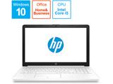 HP 15-da0093TU-OHB 4QM63PA-AAAB ピュアホワイト [intel Core i5 /メモリ:8GB]