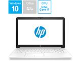 ノートPC 15-da0058TU 4QM64PA-AAAA ピュアホワイト [Core i7・15.6インチ・SSD 128GB + HDD 1TB]
