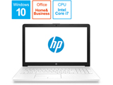 HP 15-da0058TU-OHB 4QM64PA-AAAB ピュアホワイト [intel Core i7 /メモリ:8GB]
