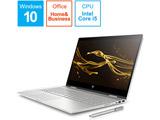 ノートPC ENVY x360 15-cn1000 G1モデル 6KX24PA-AAAA ナチュラルシルバー [Core i5・15.6インチ・Office付き・HDD 1TB・メモリ 8GB]