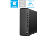 9AQ16AA-AAAA デスクトップパソコン Slim Desktop S01-pF0121jp ジェットブラック [モニター無し /HDD:1TB /メモリ:8GB /2020年6月モデル]