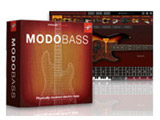 〔Win・Mac/USBメモリ〕 MODO BASS [Win・Mac用] フィジカル・モデリング・ベース音源
