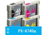 【在庫限り】 PLE-E464P-N (エプソン IC4CL46対応/互換インクカートリッジ/4色BOXパック)