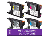 PLE-BR124P (ブラザー LC12-4PK 互換インクカートリッジ/4色)