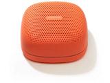Bluetooth5.0 ワイヤレススピーカー SOUND BUMP SPS10BTT オレンジ [Bluetooth対応/防滴]