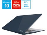 ノートPC WiZ KIC14LTE ダークネイビー [ Atom・14.0インチ・eMMC 32GB・メモリ 4GB]