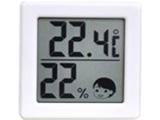 小さいデジタル温湿度計 O-257WH