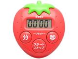 キッチンタイマー いちごタイマー T-564RD レッド