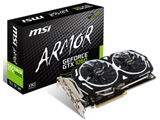 MSI(エムエスアイ) GeForce GTX 1060 ARMOR 6G OCV1