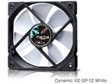 Fractal Design Dynamic X2 GP-12 White FD-FAN-DYN-X2-GP12-WT (ケースファン/120mm角/1200rpm/ホワイト)