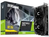 ZOTAC GAMING GeForce GTX 1660 6GB GDDR5 (ZTGTX1660-6GB/ZT-T16600F-10L)