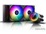 CASTLE 240RGB V2 DP-GS-H12AR-CSL240V2 (水冷一体型CPUクーラー/240mmモデル/500〜1800rpm)