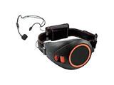 ハンズフリー拡声器(ブラック&オレンジ)ER-1000BK