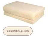 通気性低反発マット(シングルサイズ/100×200×8cm/ベージュ)【日本製】